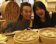 岸谷香と木佐彩子 台湾で小籠包