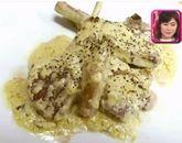 村上佳菜子作ラム肉のサワークリーム和え