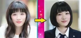 永野芽郁 髪型の変化