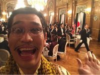 ピコ太郎 トランプ大統領と晩餐会