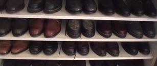 旦那の靴コレクション