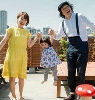 池田鉄洋と妻と長女