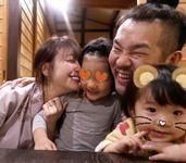 木下優樹菜とフジモンと娘