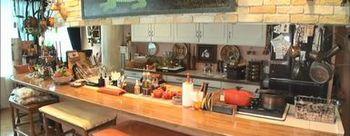森家カウンター付きキッチン