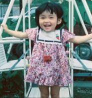 中嶋朋子3歳