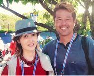 荻野目洋子と辻野隆三