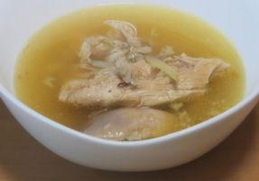 TAKAHIROの奥さんが作ったサムゲタンスープ